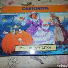 Libros de segunda mano: LIBRO - INFANTIL - DESPLEGABLE - POP-UP FAVORITOS - CENICIENTA - ILUSTRA JOHN PATIENCE. Lote 141408774
