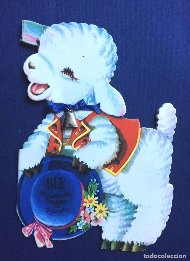 Libros de segunda mano: Cuento Troquelado BÉE EL CORDERITO TRAVIESO Ferrándiz Vilcar 4ª Edición + Accesorio Juguete Años 60 - Foto 2 - 103188435