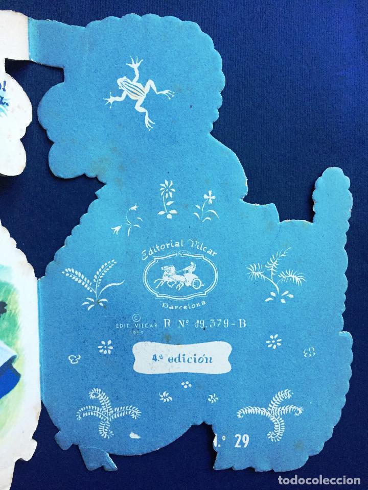 Libros de segunda mano: Cuento Troquelado BÉE EL CORDERITO TRAVIESO Ferrándiz Vilcar 4ª Edición + Accesorio Juguete Años 60 - Foto 4 - 103188435