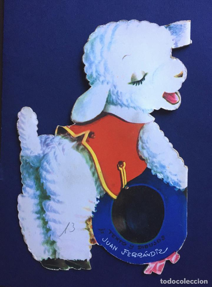 Libros de segunda mano: Cuento Troquelado BÉE EL CORDERITO TRAVIESO Ferrándiz Vilcar 4ª Edición + Accesorio Juguete Años 60 - Foto 6 - 103188435