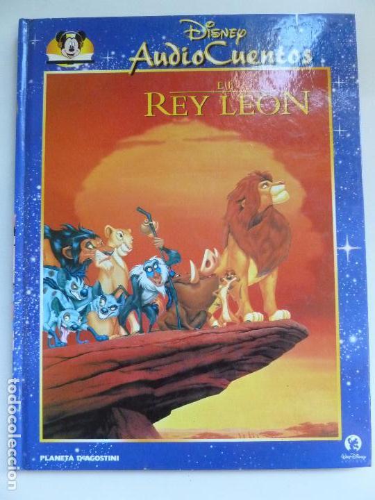 AUDIO CUENTOS DISNEY. EL REY LEÓN (NO TRAE EL CD) (Libros de Segunda Mano - Literatura Infantil y Juvenil - Cuentos)
