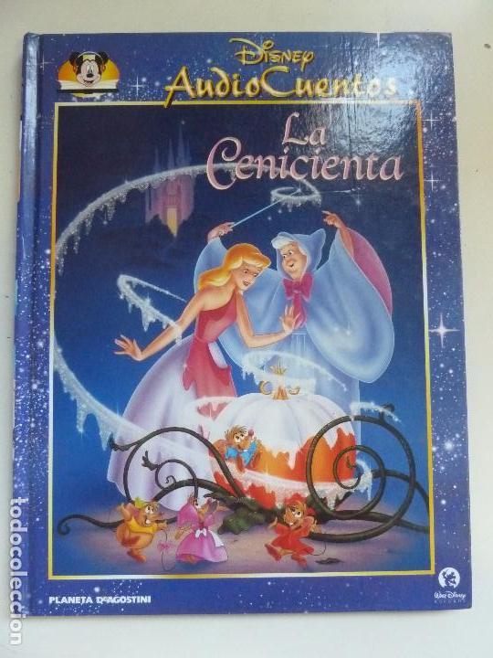 AUDIO CUENTOS DISNEY. LA CENICIENTA (NO TRAE EL CD) (Libros de Segunda Mano - Literatura Infantil y Juvenil - Cuentos)