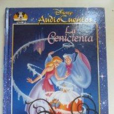 Libros de segunda mano: AUDIO CUENTOS DISNEY. LA CENICIENTA (NO TRAE EL CD). Lote 103576527