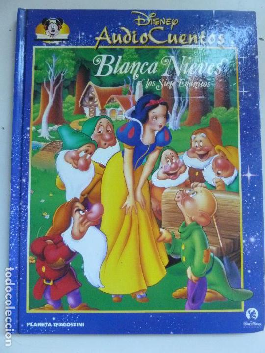 AUDIO CUENTOS DISNEY. BLANCA NIEVES (NO TRAE EL CD) (Libros de Segunda Mano - Literatura Infantil y Juvenil - Cuentos)