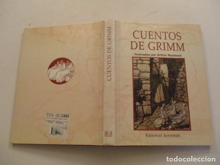 HERMANOS GRIMM. CUENTOS DE GRIMM. RM84436. (Libros de Segunda Mano - Literatura Infantil y Juvenil - Cuentos)