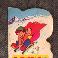 Libros de segunda mano: HEIDI EN EL ALUD.(CUENTO INFANTIL TROQUELADO) A.1975. Lote 103927086