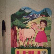 Libros de segunda mano: CUENTO TROQUELADO - HEIDI UN LLANTO OPORTUNO - INFANTIL - BRUGUERA - AÑO 1975. Lote 104105887