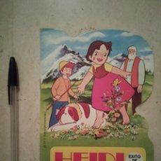 Libros de segunda mano: CUENTO TROQUELADO - HEIDI UN PASTEL MUSICAL - INFANTIL - BRUGUERA - AÑO 1975. Lote 104105891