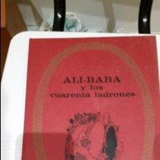Libros de segunda mano: ALI-BABA Y LOS CUARENTA LADRONES BRUGUERA INFANCIA-COLOR 1969 SADUR. Lote 104107703
