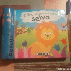 Libros de segunda mano: EL LLEÓ I ELS SEUS AMICS DE LA SELVA . BELLUGA'M I ESCOLTA! - SUSAETA. Lote 104343503