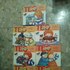 Libros de segunda mano: TEO DESCUBRE LOTE DE 7 CUENTOS . Lote 104359939