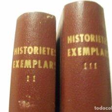 Libros de segunda mano: HISTORIETES EXEMPLARS PER JOSEP Mª FOLCH I TORRES - TOMOS 2 Y 3 - MAS DE 125 CUENTOS. Lote 104713051