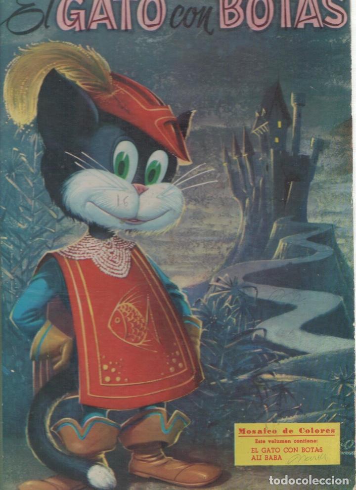 numulite 2388 el gato con botas mosaico de colo - Comprar Libros de ...