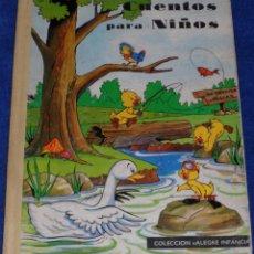 Libros de segunda mano: CUENTOS PARA NIÑOS - EDITORIAL CANTÁBRICA (1963). Lote 104899783