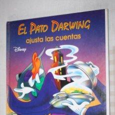 Libros de segunda mano: EL PATO DARWING AJUSTA LAS CUENTAS *** CUENTO COLOR INFANTIL *** WALT DISNEY *** AÑO 1994. Lote 104950755