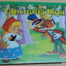 Libros de segunda mano: CUENTO CAPERUCITA ROJA CUENTOS CLÁSICOS PANORÁMICOS Nº 3 ED. ROMA AÑO 1983 BUSQUETS. Lote 104956431