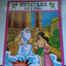 Libros de segunda mano: HÉRCULES - LEE Y JUEGA - CUENTO CON PEGATINAS - EDIVAS. Lote 105053483