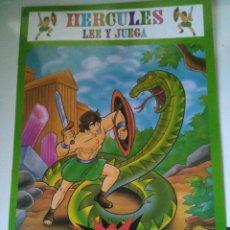 Libros de segunda mano: HÉRCULES - LEE Y JUEGA - CUENTO CON PEGATINAS - EDIVAS. Lote 105053495