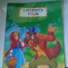 Libros de segunda mano: CAPERUCITA ROJA - SERIE PERGAMINO - COLORINES. Lote 105053595