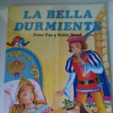 Libros de segunda mano: LA BELLA DURMIENTE, PETER PAN Y ROBIN HOOD - SERVILIBRO - COLECCIÓN CUENTOS CLÁSICOS. Lote 105053831