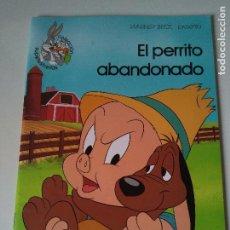 Libros de segunda mano: EL PERRITO ABANDONADO - COLECCIÓN SUPERESTRELLAS WARNER BROS - EDICIONES GAVIOTA - 1991. Lote 105504723