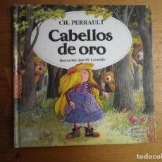 Libros de segunda mano: CABELLOS DE ORO CH. PERRAULT. Lote 105668963