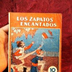 Libros de segunda mano: COLECCION MARUJITA Nº 19- ZAPATOS ENCANTADOS - ED.MOLINO . Lote 105832563