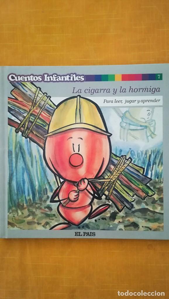 CUENTOS INFANTILES LA CIGARRA Y LA HORMIGA (Libros de Segunda Mano - Literatura Infantil y Juvenil - Cuentos)