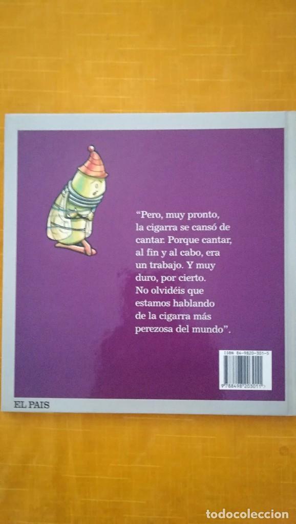 Libros de segunda mano: CUENTOS INFANTILES LA CIGARRA Y LA HORMIGA - Foto 2 - 105894283