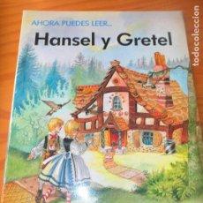 Libros de segunda mano: HANSEL Y GRETEL - ILUSTRA: ERIC KINCAID - COLECCIO AHORA PUEDES LEER... DE EVEREST. Lote 106085199