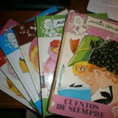 Libros de segunda mano: LOTE 7 EJEMPLARES CUENTOS DE SIEMPRE - Nº 1,3,6,7,8,9,10 - MARÍA PASCUAL - EDICIONES TORAY, AÑOS 80.. Lote 49912945