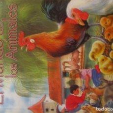 Libros de segunda mano: EL MUNDO DE LOS ANIMALES TAPA DURA ILUSTRADO COLOR GRAN FORMATO NUEVO SUSAETA. Lote 106596787