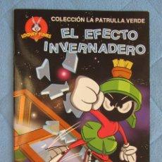 Libros de segunda mano: COLECCION LA PATRULLA VERDE. EL EFECTO INVERNADERO. EDICIONES GAVIOTA 1997. Lote 106611867