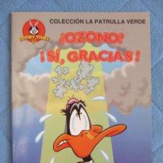 Libros de segunda mano: COLECCION LA PATRULLA VERDE. ¡OZONO! ¡SI GRACIAS! EDICIONES GAVIOTA 1997.. Lote 106611923