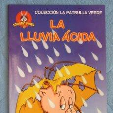 Libros de segunda mano: COLECCION LA PATRULLA VERDE. LA LLUVIA ACIDA. EDICIONES GAVIOTA 1997.. Lote 106612039