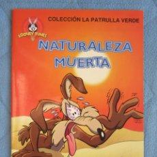 Libros de segunda mano: COLECCION LA PATRULLA VERDE. NATURALEZA MUERTA. EDICIONES GAVIOTA 1997.. Lote 106612055