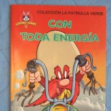 Libros de segunda mano: COLECCION LA PATRULLA VERDE. CON TODA ENERGIA. EDICIONES GAVIOTA 1997.. Lote 106612127