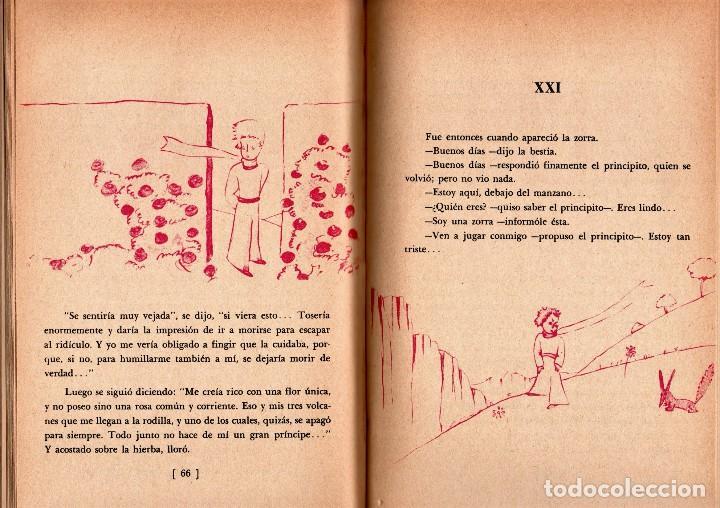 Libros de segunda mano: LIBRO-CUENTO, EL PEQUEÑO PRINCIPE,EL PRINCIPITO,AÑO 1966,EDITORIAL DIANA,MEXICO,RARO DE CONSEGUIR - Foto 3 - 148842902