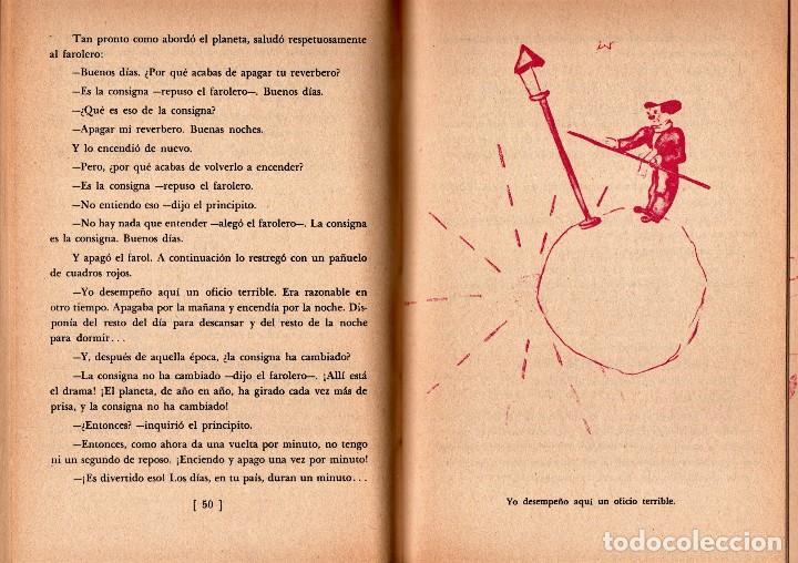 Libros de segunda mano: LIBRO-CUENTO, EL PEQUEÑO PRINCIPE,EL PRINCIPITO,AÑO 1966,EDITORIAL DIANA,MEXICO,RARO DE CONSEGUIR - Foto 4 - 148842902