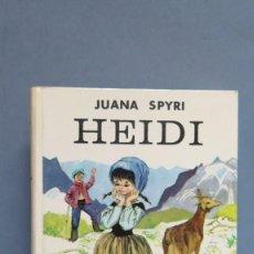 Libros de segunda mano: 1975.- HEIDI. JUANA SPYRI . Lote 106978991