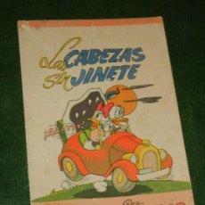 Libros de segunda mano: LAS CABEZAS SIN JINETE, CUENTOS WALT DISNEY, SERIE POPULAR, EDITORIAL ROMA, Nº 9. Lote 107338771