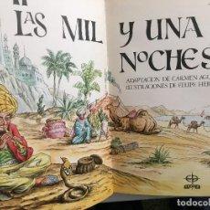 Libros de segunda mano: LAS MIL Y UNA NOCHES - CARMEN AGULLO Y FELIPE HERRANZ - TOMOS I Y II - EDAF . Lote 107973099