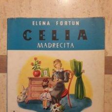 Libros de segunda mano: CELIA. MADRECITA. ELENA FORTUN. AGUILAR 1981.. Lote 108016332