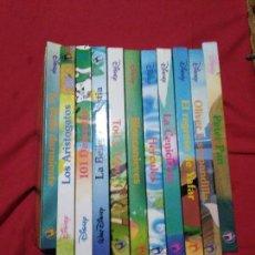 Libros de segunda mano: LOTE DE 11 CUENTOS DISNEY.EDICINES GAVIOTA.. Lote 112987875