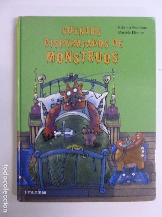 CUENTOS DISPARATADOS DE MONSTRUOS. KESELMAN. ELIZALDE (Libros de Segunda Mano - Literatura Infantil y Juvenil - Cuentos)