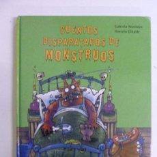 Libros de segunda mano: CUENTOS DISPARATADOS DE MONSTRUOS. KESELMAN. ELIZALDE. Lote 108054339