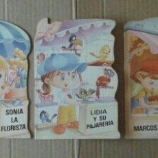 Libros de segunda mano: LOTE TROQUELADOS MIS TIENDAS: COLECCIÓN COMPLETA (BRUGUERA, 1984). DIBUJOS DE CARLOS BUSQUETS.. Lote 108063908