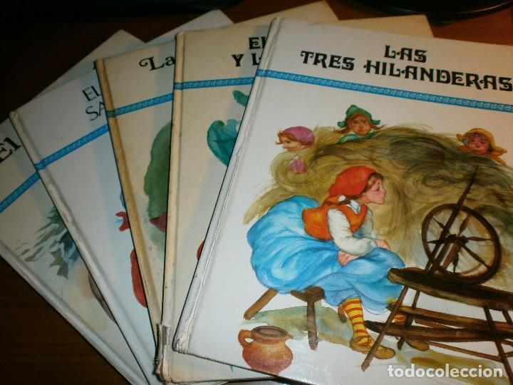 LOTE 5 LIBROS DE CUENTOS COLECCIÓN AGATA - ILUSTRACIONES DE FERNANDO SAEZ - EDT. SUSAETA, MADRID, 19 (Libros de Segunda Mano - Literatura Infantil y Juvenil - Cuentos)