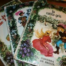 Libros de segunda mano: LOTE 7 LIBROS DE CUENTOS COLECCIÓN ESMERALDA - ILUSTRACIONES FERNANDO SAEZ - EDT. SUSAETA, 1971.. Lote 108078927