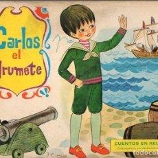 Libros de segunda mano: POP UP CARLOS EL GRUMETE - CUENTOS RELIEVE MOLINO, 1970. Lote 108293987